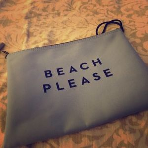 Little bathing suit bag or cosmetic